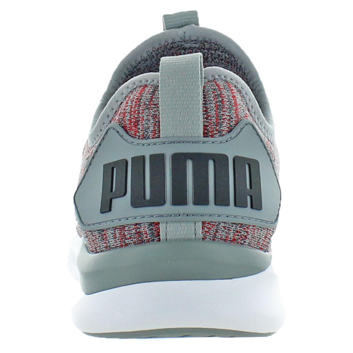 Puma-IGNITE-Flash-evoKNIT-Men-039-s-Knit-Mid-Top-Athleisure-Trainer-Sneaker-Shoes thumbnail 9