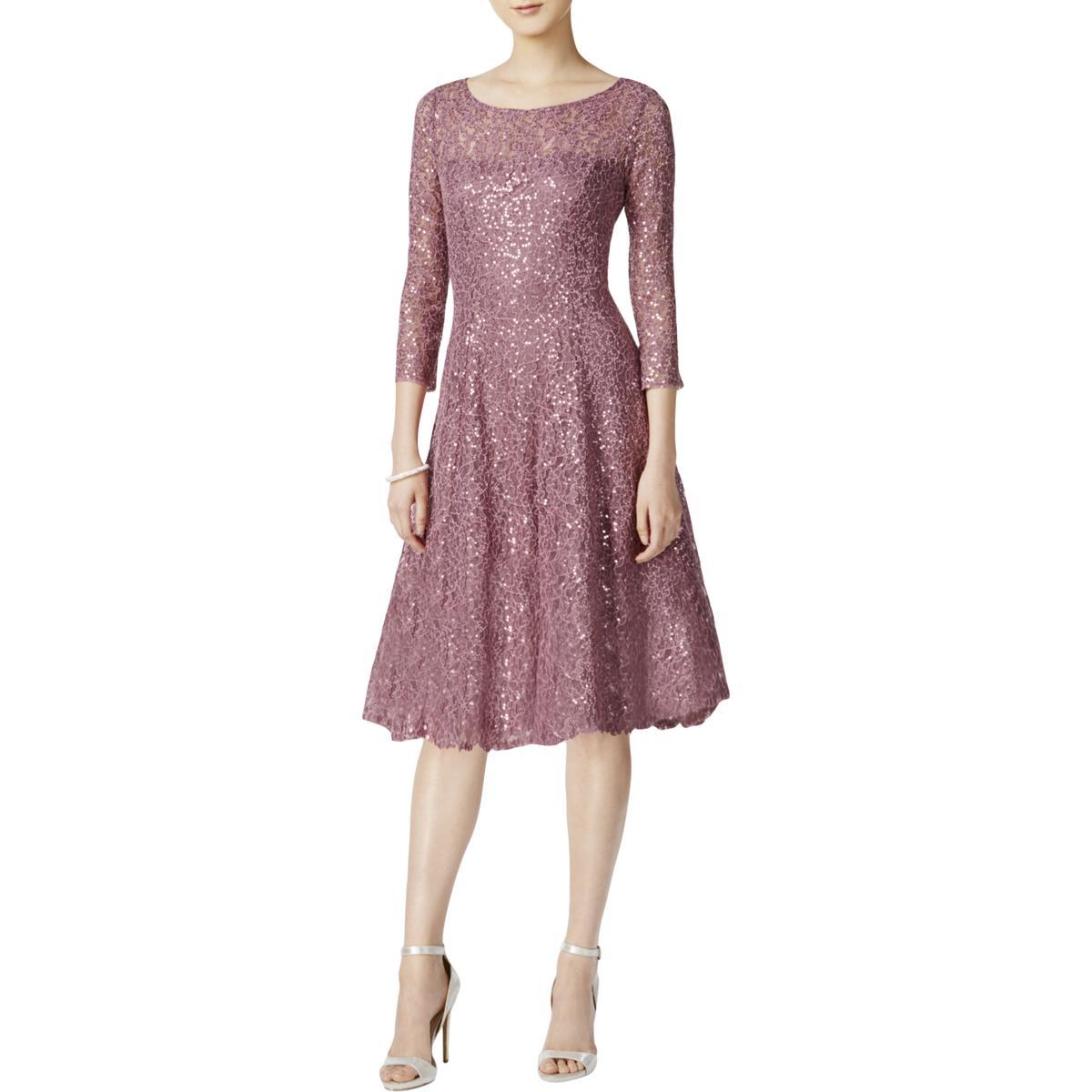 Birthday Dress For Womens: SLNY Womens Lace Mini Special Occasion Party Dress BHFO