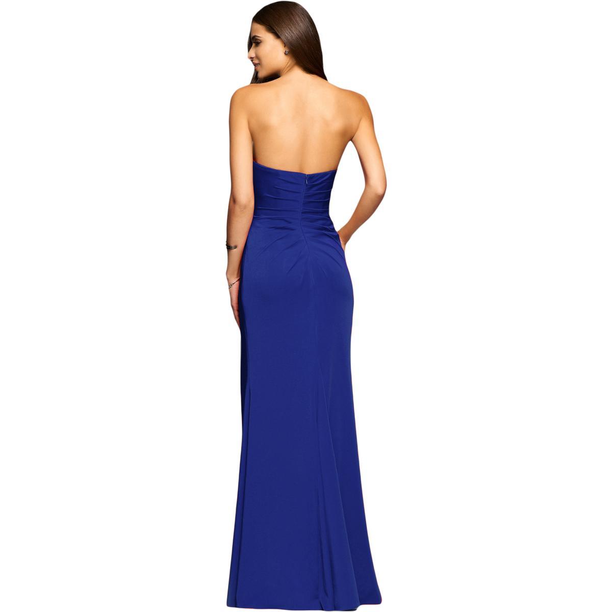Faviana Womens Satin Prom Special Occasion Evening Dress Dress Dress Gown BHFO 3611 878b7f