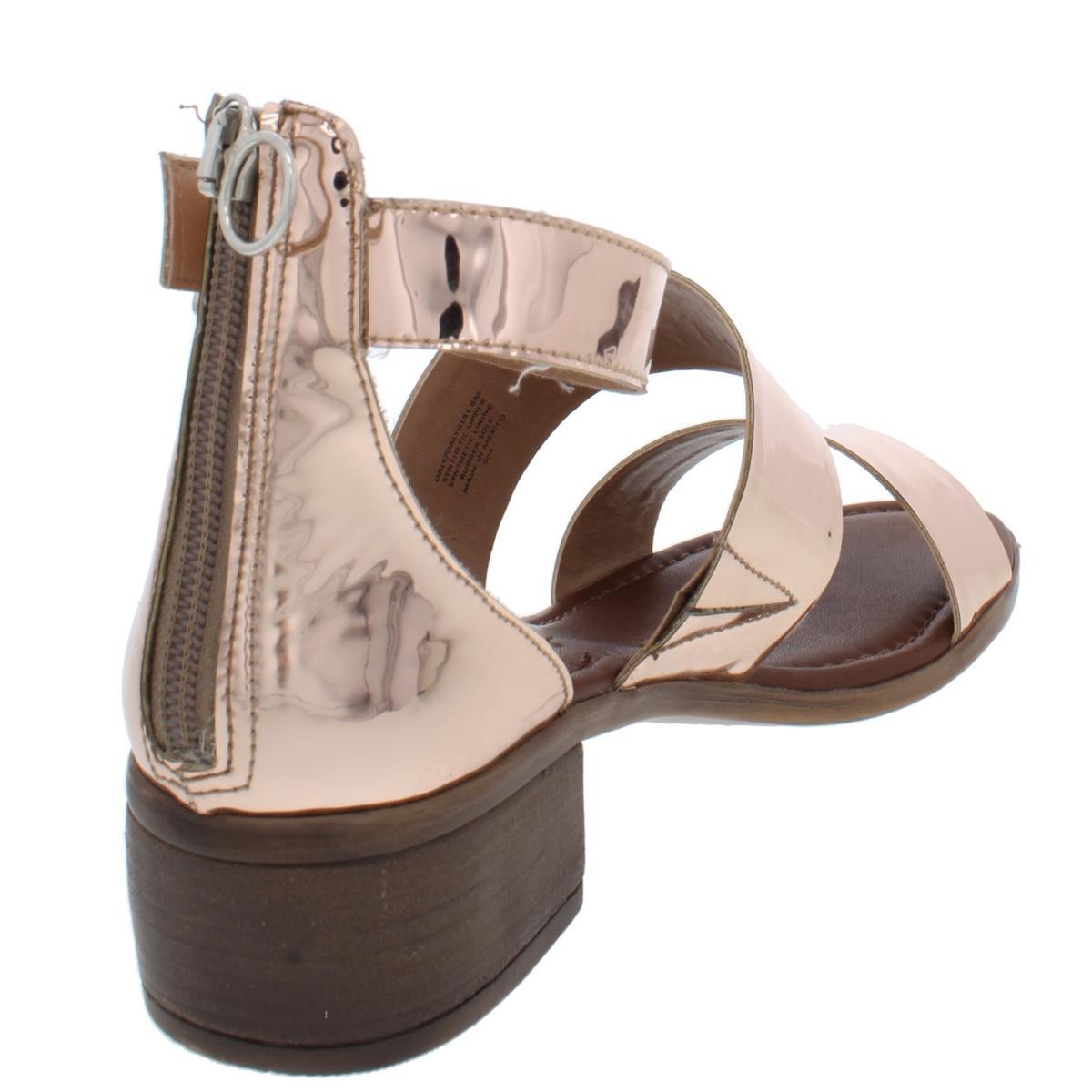 Steve-Madden-Womens-Daly-Leather-Open-Toe-Dress-Heels-Sandals-BHFO-5458 thumbnail 10