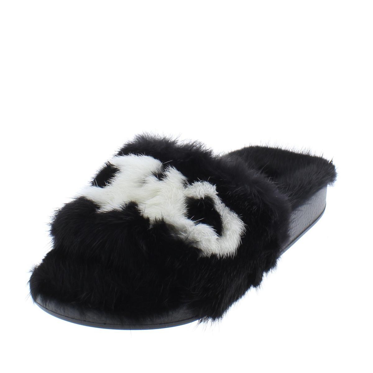 ad833c457c9 Details about salvatore ferragamo womens groove mink fur pool slide slippers  shoes bhfo jpg 1200x1200 Ferragamo