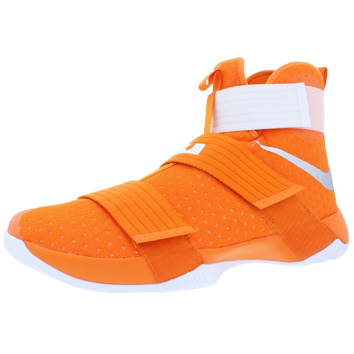 Nike LeBron Soldier 10 homme Mesh chaussures High-Top athlétique Trainer Basketball chaussures Mesh 8140ba