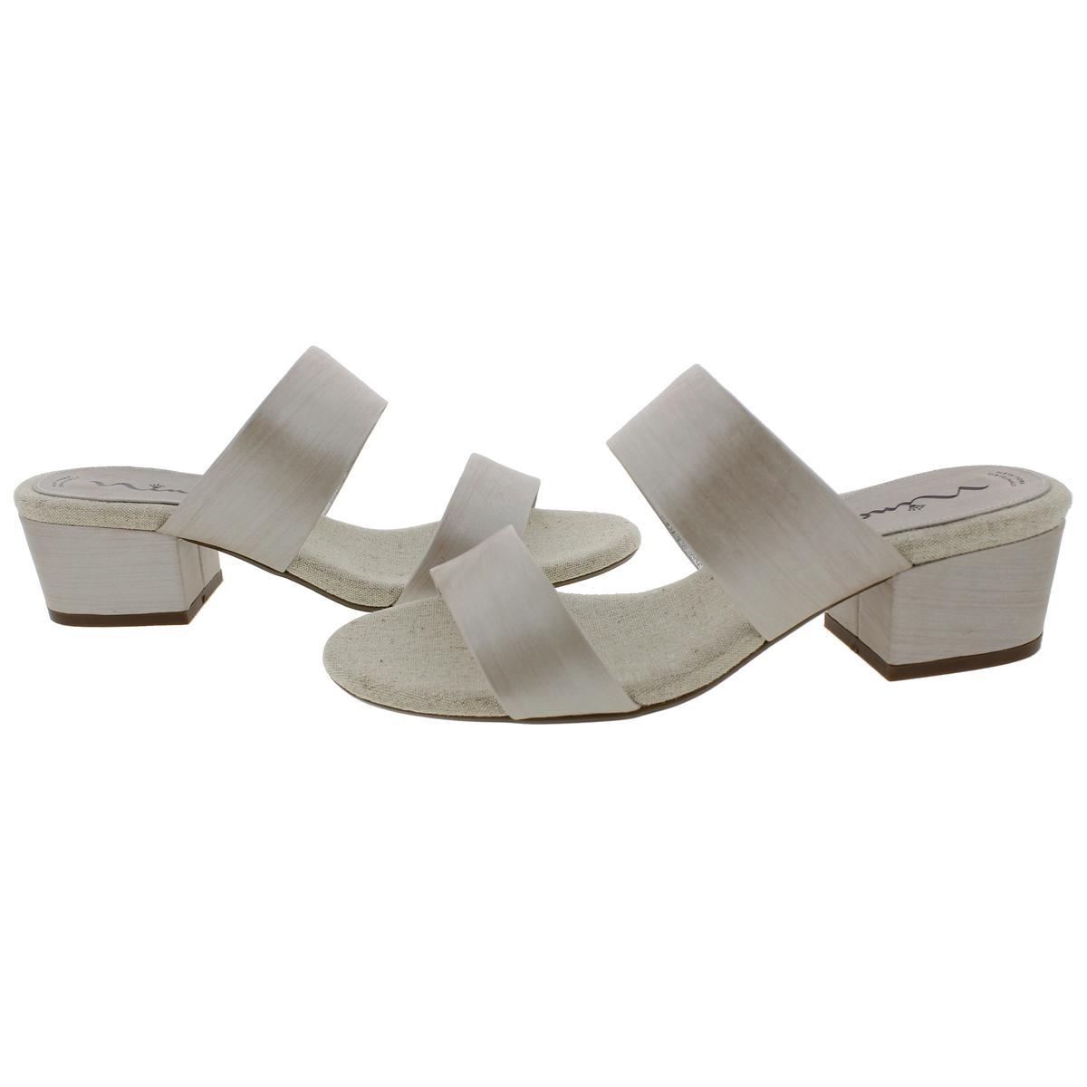Nina-Womens-Vansi-Strappy-Block-Heel-Open-Toe-Heels-Sandals-BHFO-4278 thumbnail 6