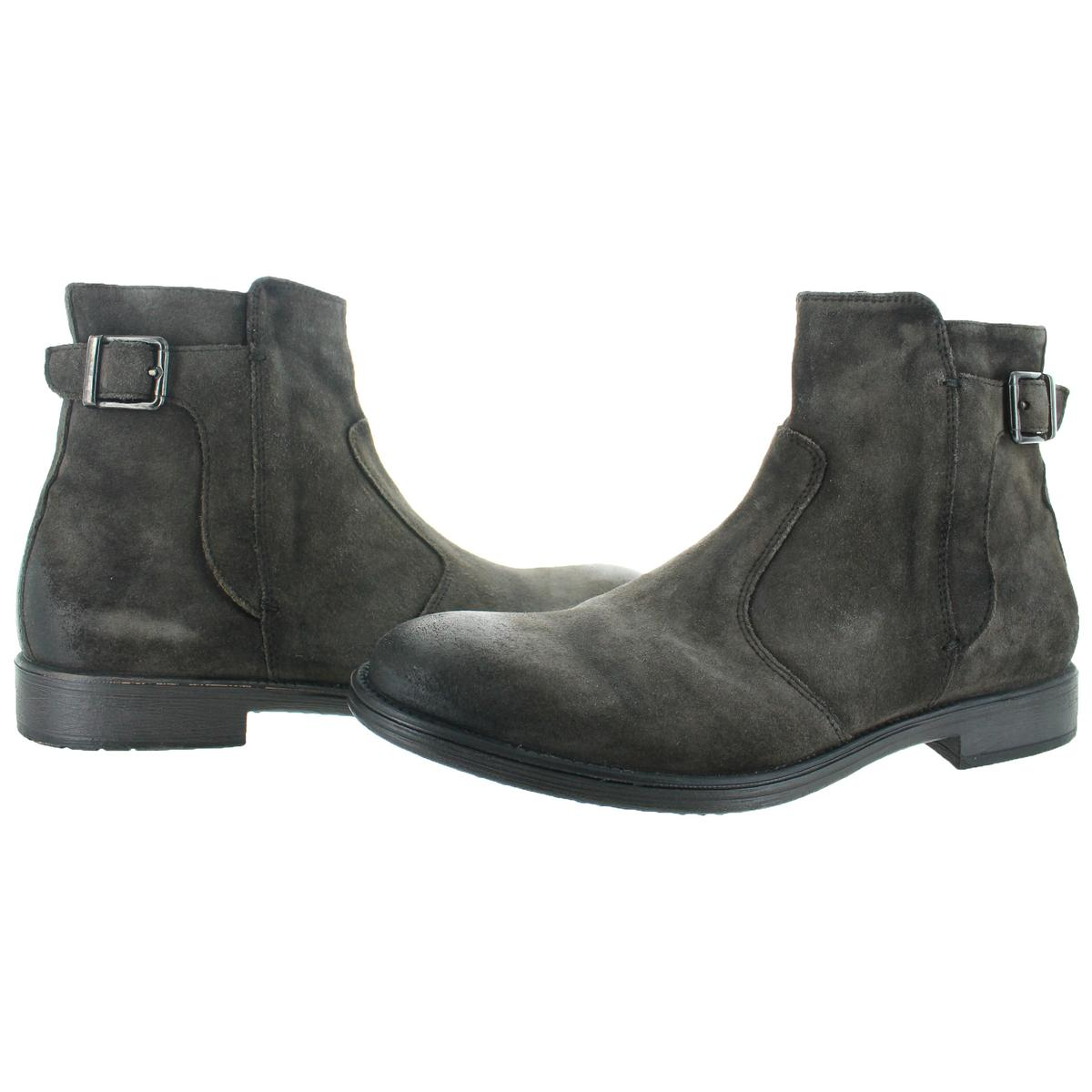 Geox-Jaylon-Buckle-Men-039-s-Casual-Moto-Inspired-Boots thumbnail 7