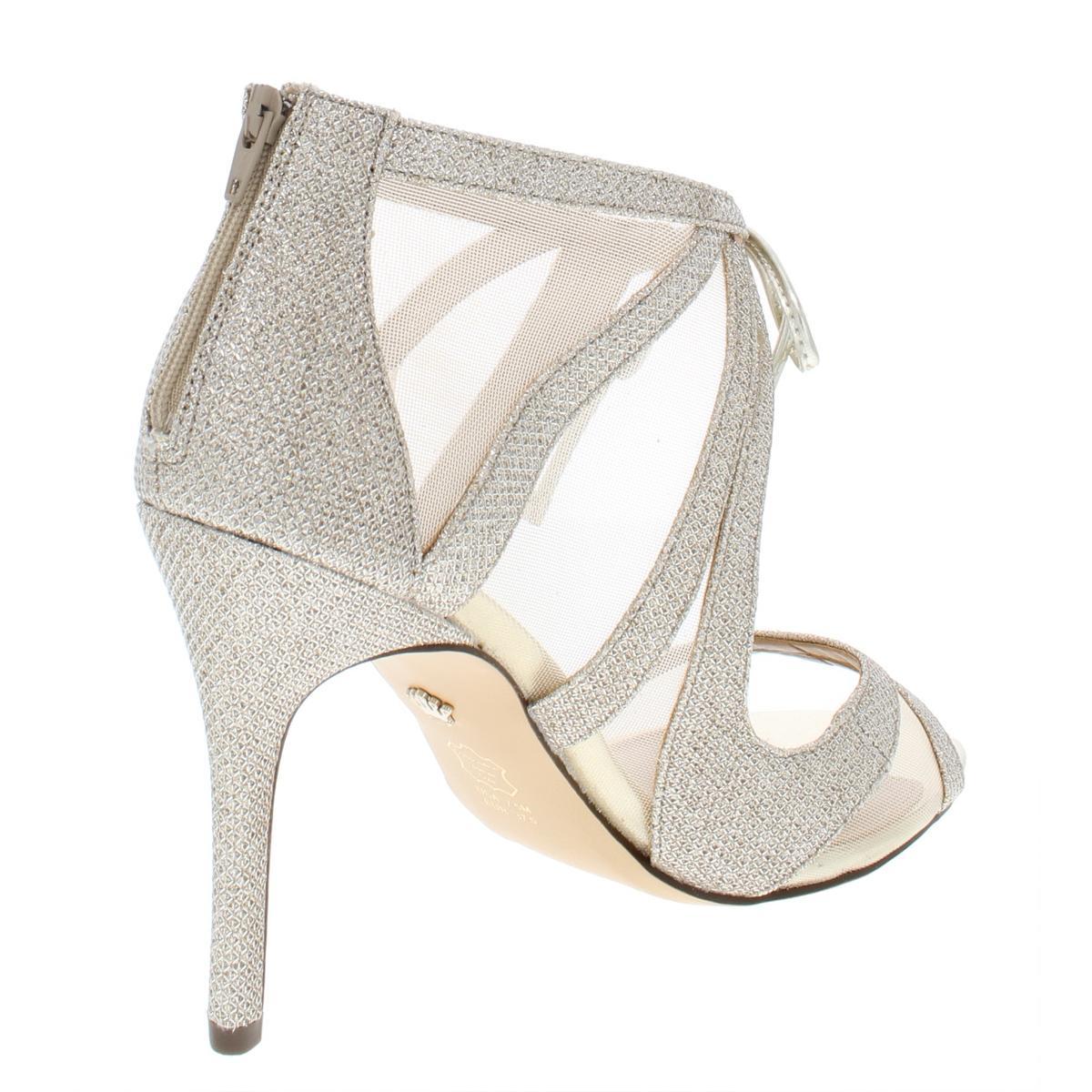 Nina-Womens-Cherie-Heels-Evening-Sandals-Shoes-BHFO-6446 thumbnail 6