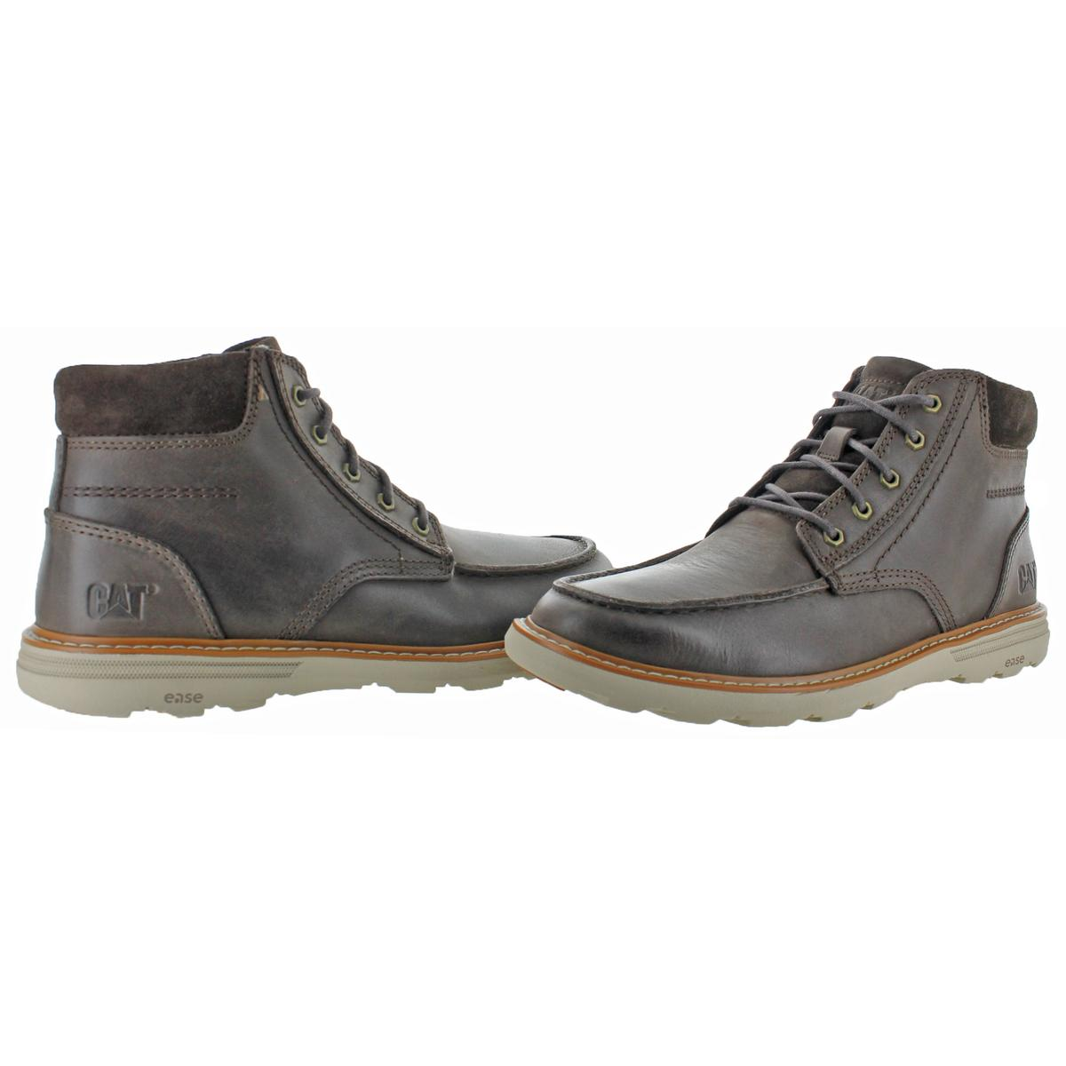 2427f2690ca82 Caterpillar Cat Duke Men's Leather Lace-Up Lightweight Casual Ankle ...