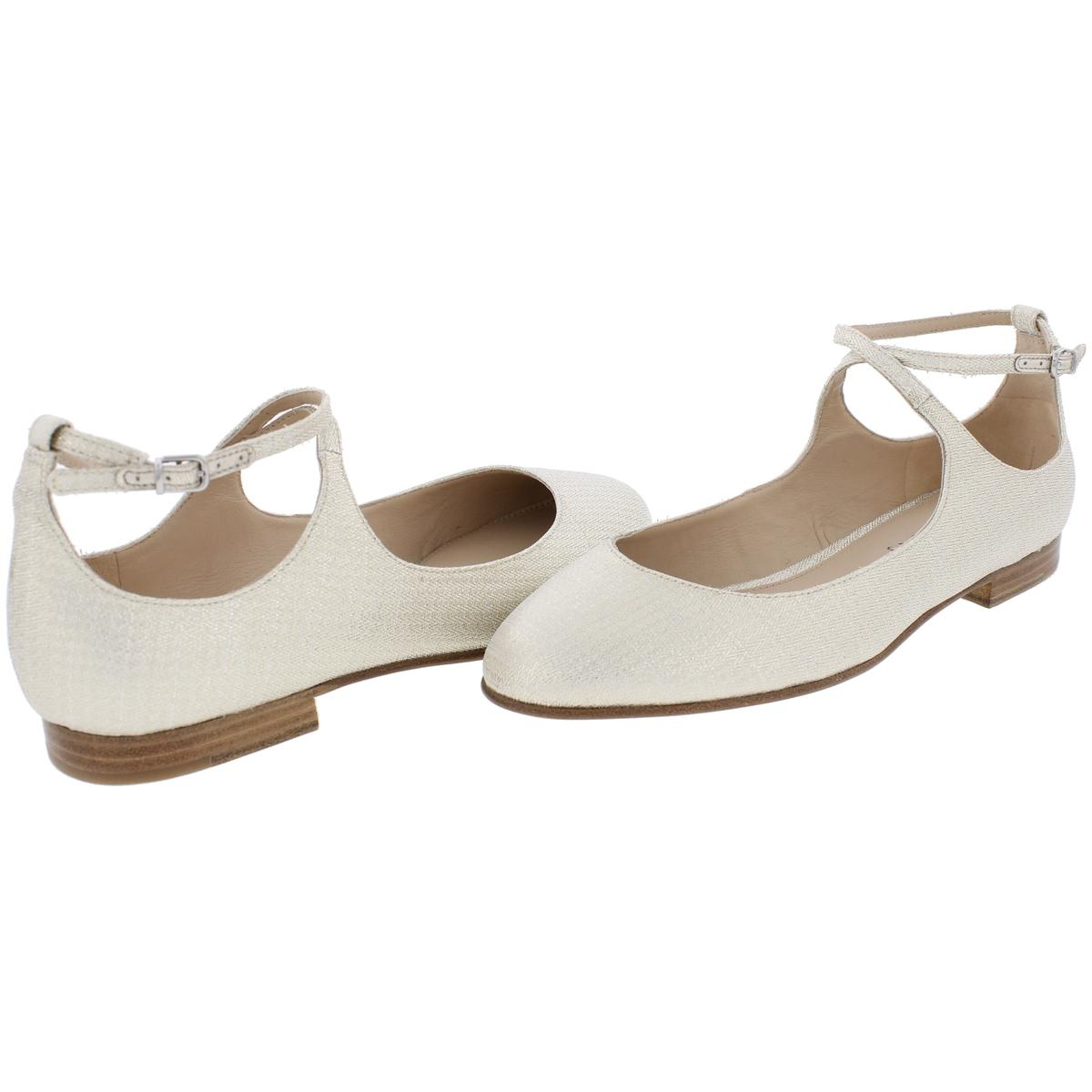 Via-Spiga-Womens-Yovela-Criss-Cross-Front-Ballet-Flats-Shoes-BHFO-4384 thumbnail 7
