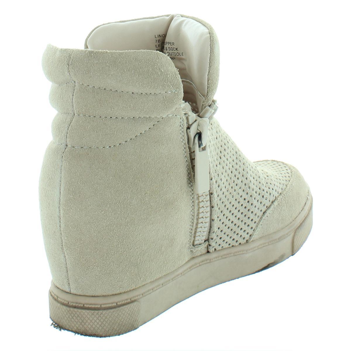 322285e7d358 Details about Steve Madden Womens Linqsp Tan Fashion Sneakers Shoes 7  Medium (B