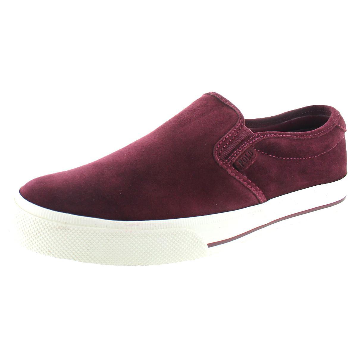 0c7d8533859b26 Details about Polo Ralph Lauren Vaughn Men s Suede Slip On Sneakers Shoes