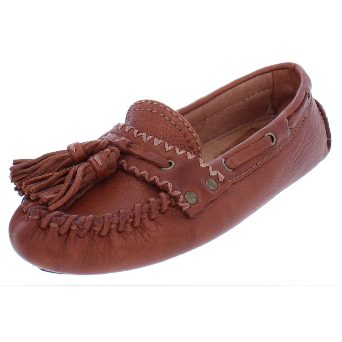 a9770e49880 Patricia Nash Womens Domenica Tan Leather Loafers Shoes 6 Medium (B ...