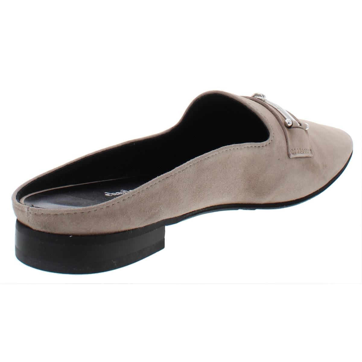 Charles-David-Womens-MELODY-Suede-Slip-On-Dress-Loafer-Mule-Shoes-BHFO-9251 thumbnail 6