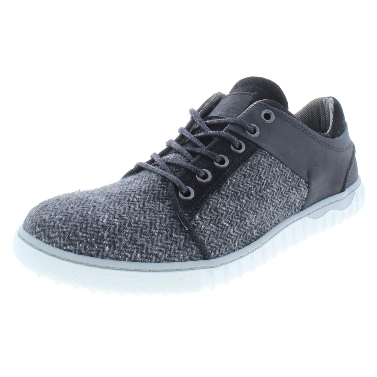 ee58064e947 Details about Steve Madden Mens Quill Black Fashion Sneakers Shoes 12  Medium (D) BHFO 3310