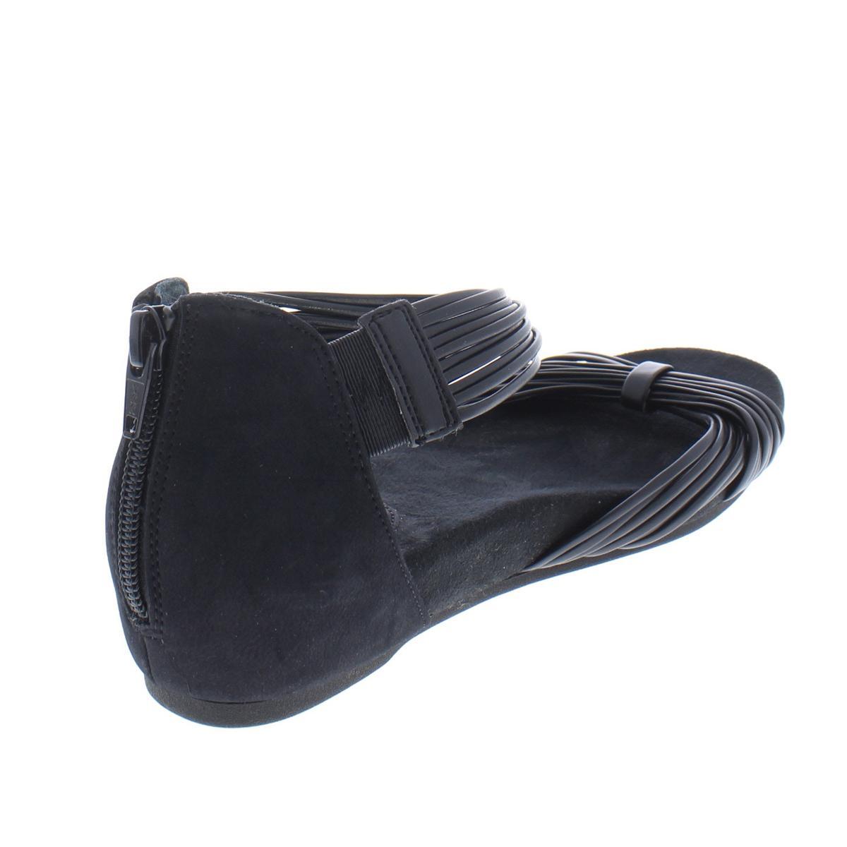 Giani-Bernini-Womens-Jhene-Strappy-Criss-Cross-Sandals-Shoes-Flats-BHFO-9685 thumbnail 5