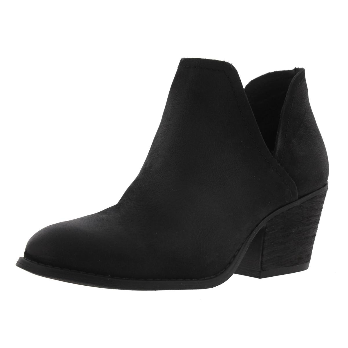 Womens Adelphie Leather Cut-Out Booties