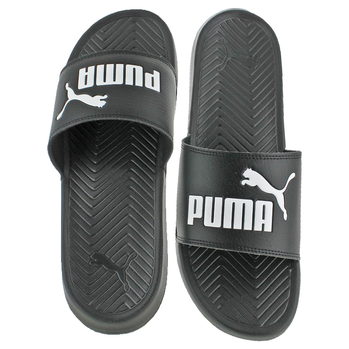 df86e0751ac PUMA Popcat Men s Sandals 14 Black-black-white
