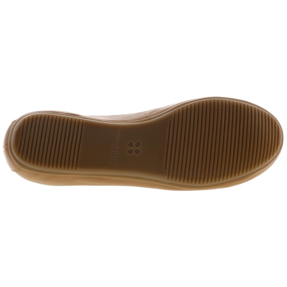 Naturalizer Damenschuhe Brittany Leder Schuhes Slide On Ballet Flats Schuhes Leder BHFO 3677 65e9e5