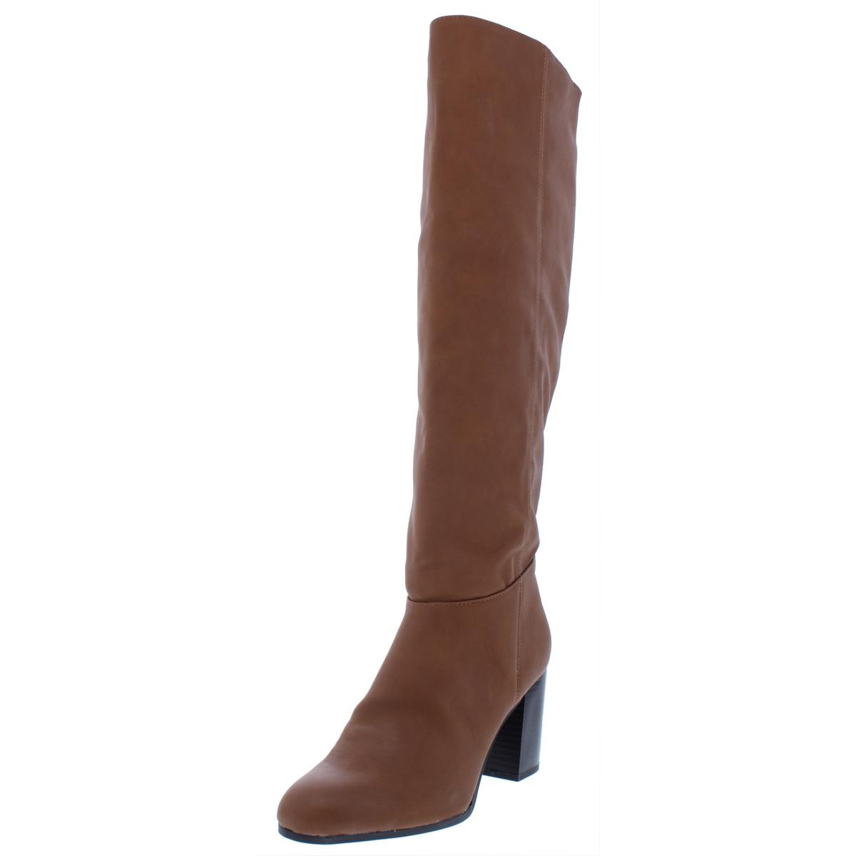 95e1cdf8a47 Circus by Sam Edelman Womens Sibley Brown Riding Boots 10 Medium (B ...