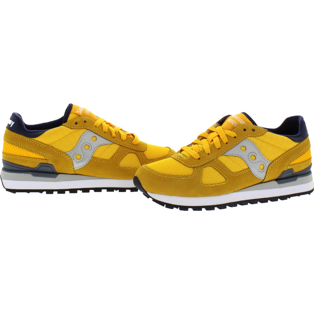 Saucony-Mens-Shadow-Original-Trainers-Suede-Comfort-Sneakers-Shoes-BHFO-0431 miniatuur 37