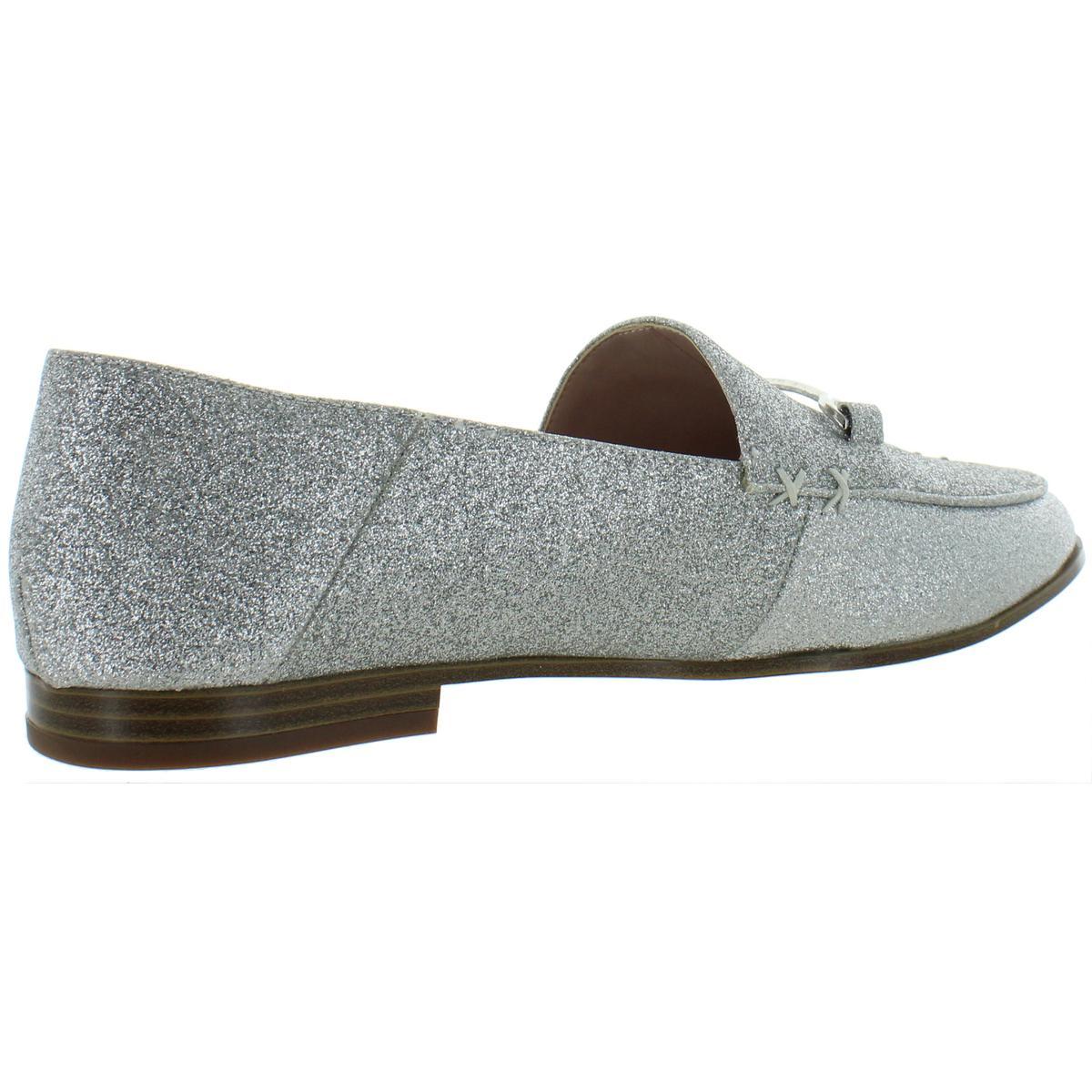 Nine-West-Womens-Wildgirls-Glitter-Slip-On-Embellished-Flats-Shoes-BHFO-8209 thumbnail 6
