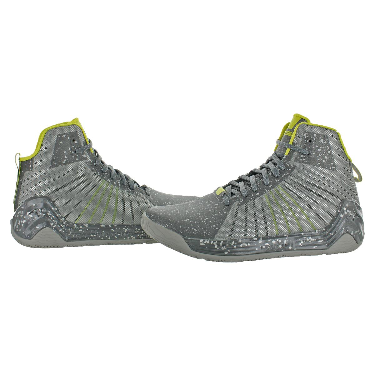 5f9b7c066fe Tesh Trooper Men Round Toe Synthetic Gray Basketball Shoe 11. About this  product. Picture 1 of 4  Picture 2 of 4  Picture 3 of 4 ...