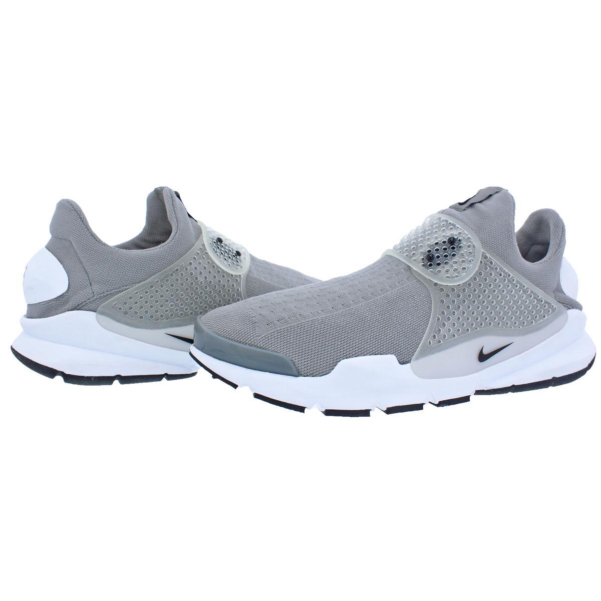 Nike Mens Sock Dart KJCRD Lightweight Knit Running BHFO Shoes Sneakers BHFO Running 5818 Medium Grey/Black/White aee7fc