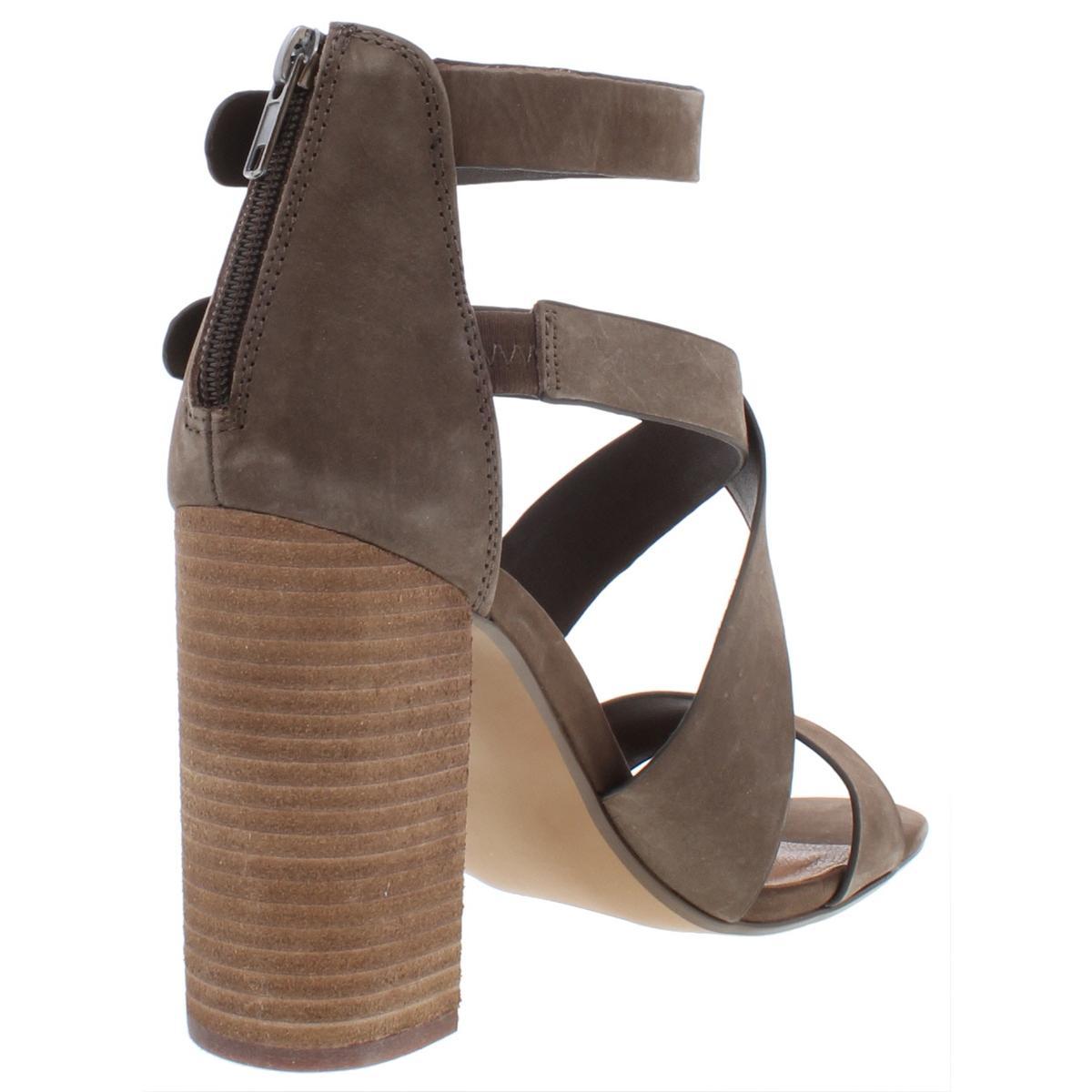 48c639bfa7e Steve Madden Women s Sundance Heeled Sandal Brown Nubuck Size 9.5 Xqo2.  About this product. Picture 1 of 4  Picture 2 of 4  Picture 3 of 4  Picture  4 of 4