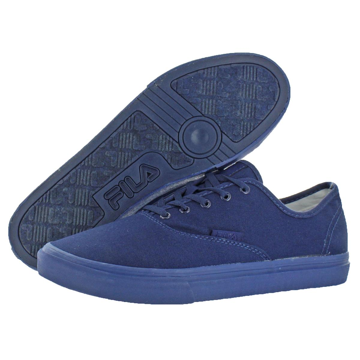 Fila-Classic-Canvas-Men-039-s-Fashion-Skate-Sneakers-Shoes thumbnail 4