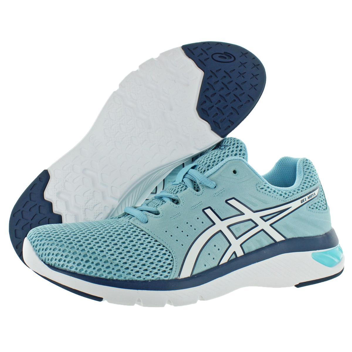 Asics-Womens-Gel-Moya-Blue-Running-Shoes-Sneakers-12-Medium-B-M-BHFO-5296 thumbnail 6