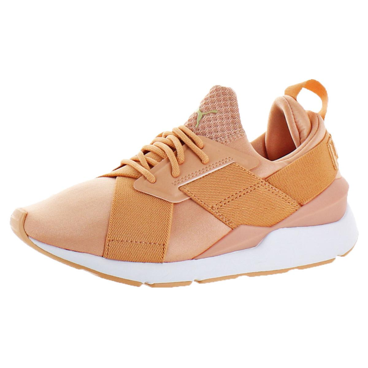 Details about Puma Muse Satin EP Women s Textile Mid-Top Ballet Inspired  Fashion Sneaker dc2492f40