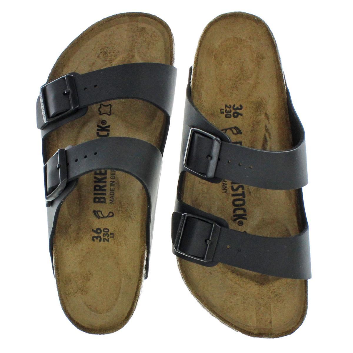 Birkenstock-Women-039-s-Arizona-Double-Buckle-Cork-Sandals thumbnail 5