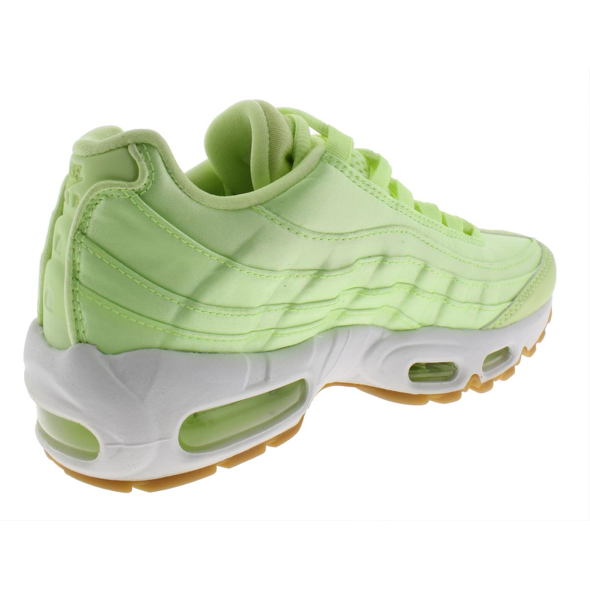 size 40 65608 bfa16 Nike Air Max 95 WQS Womens 919491-300 Liquid Lime Satin Running Shoes Size  7. About this product. Picture 1 of 4  Picture 2 of 4  Picture 3 of 4   Picture 4 ...