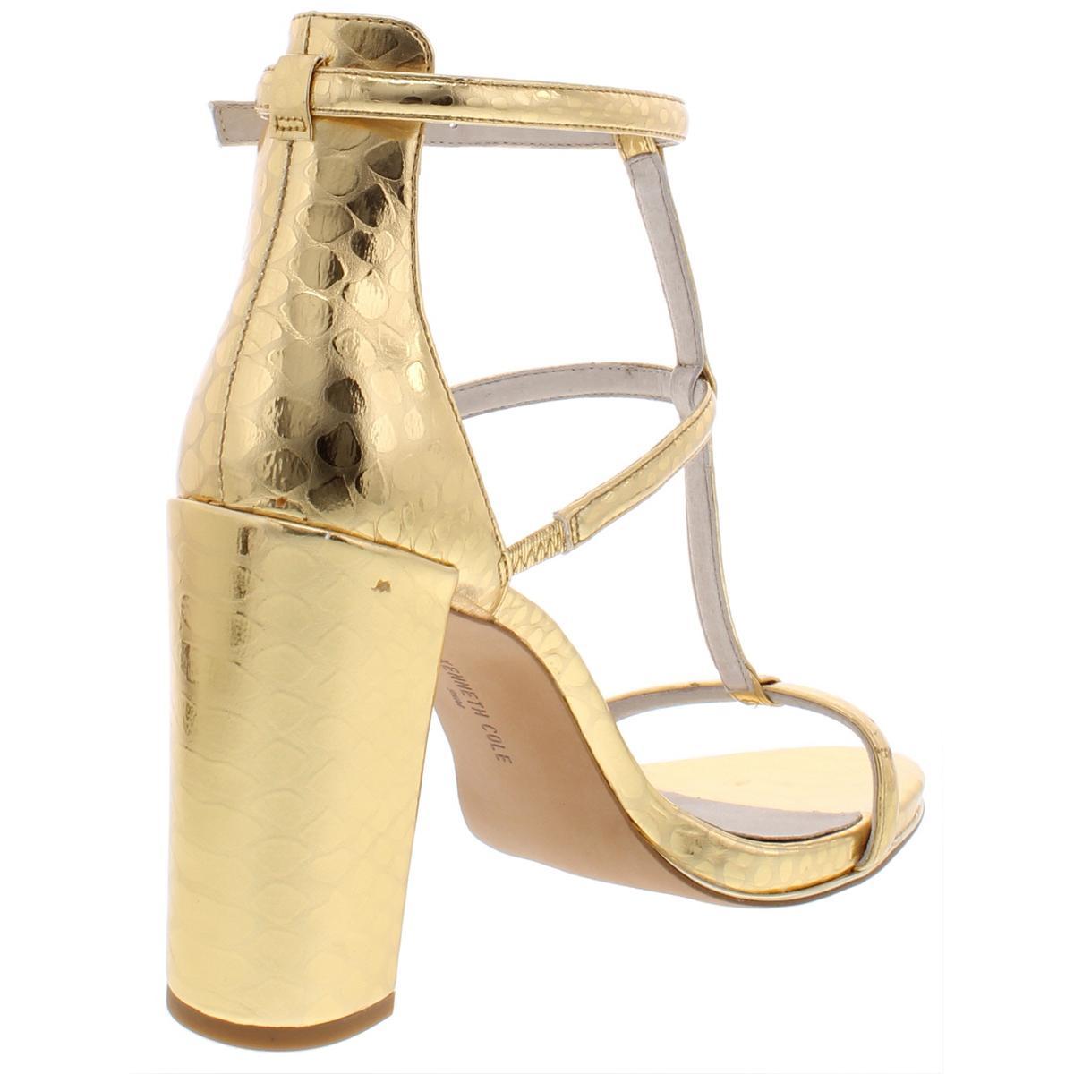 Kenneth-Cole-New-York-Womens-Deandra-Pattern-Dress-Sandals-Shoes-BHFO-5019 thumbnail 4