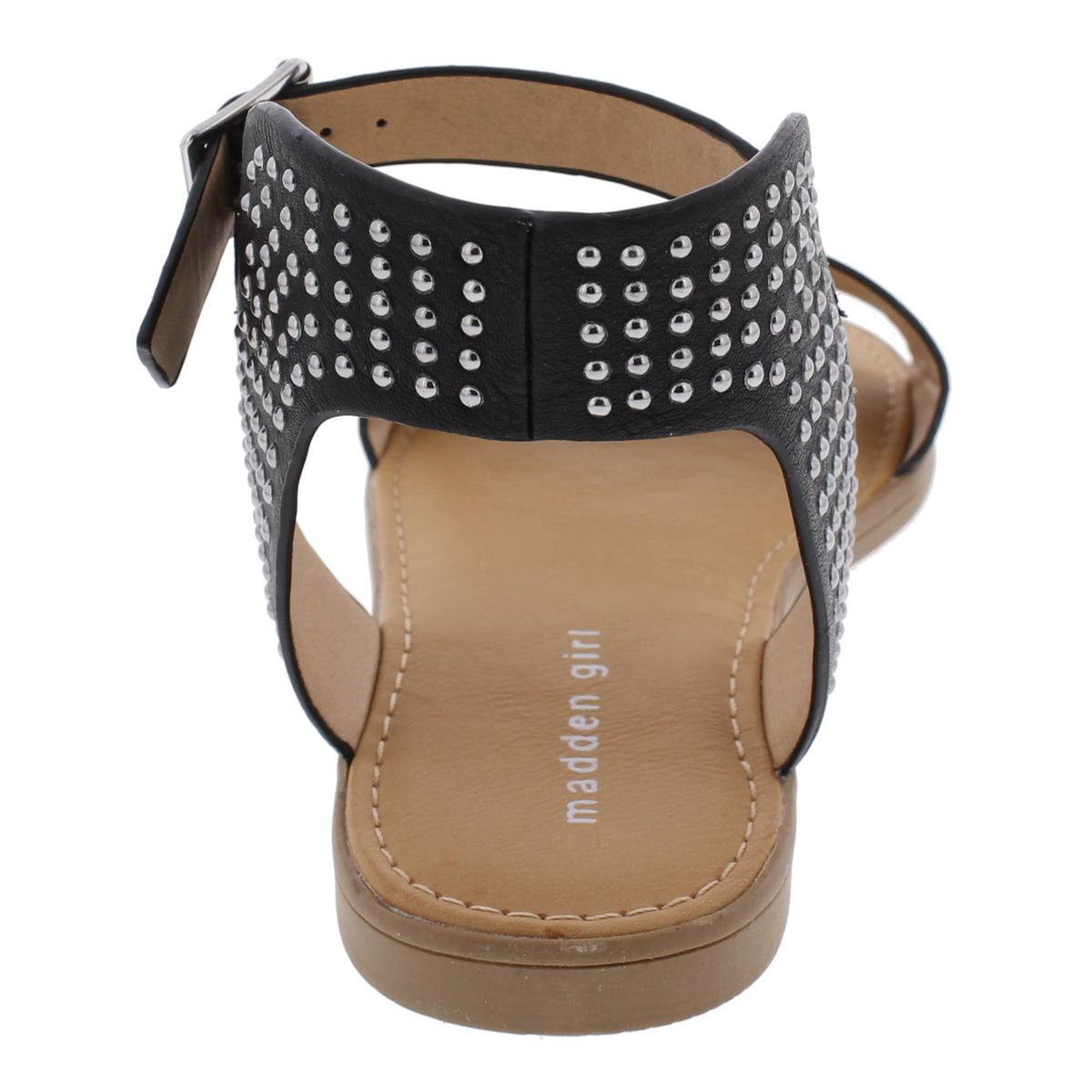 Madden-Girl-by-Steve-Madden-Womens-Drama-Ankle-Flat-Sandals-Shoes-BHFO-9428 thumbnail 6