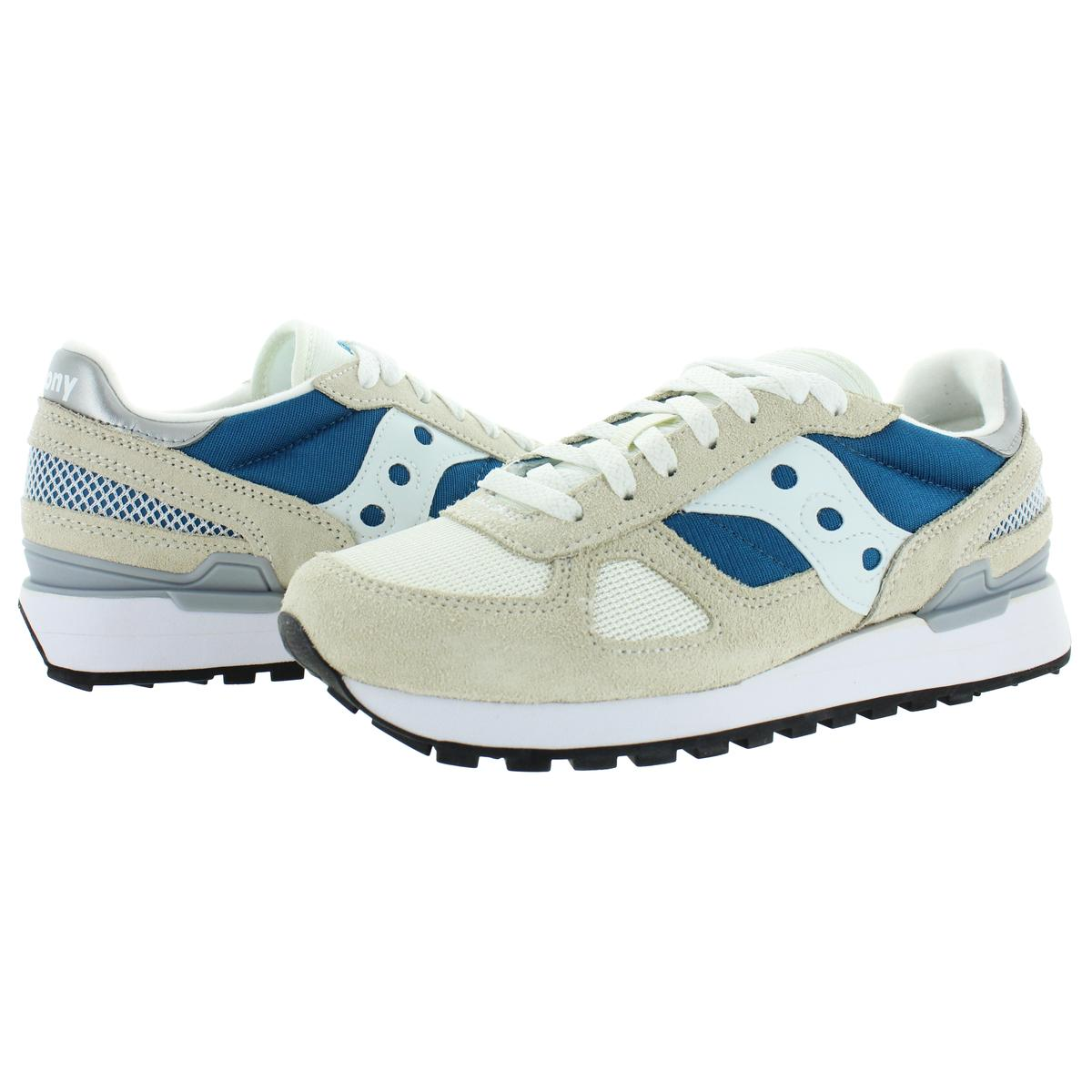 Saucony-Mens-Shadow-Original-Trainers-Suede-Comfort-Sneakers-Shoes-BHFO-0431 miniatuur 10