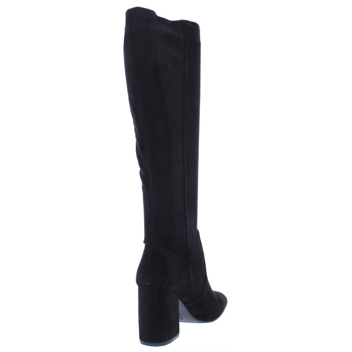 Seven-Dials-Womens-Britney-Solid-Square-Toe-Dress-Boots-Heels-BHFO-6188 miniatura 4
