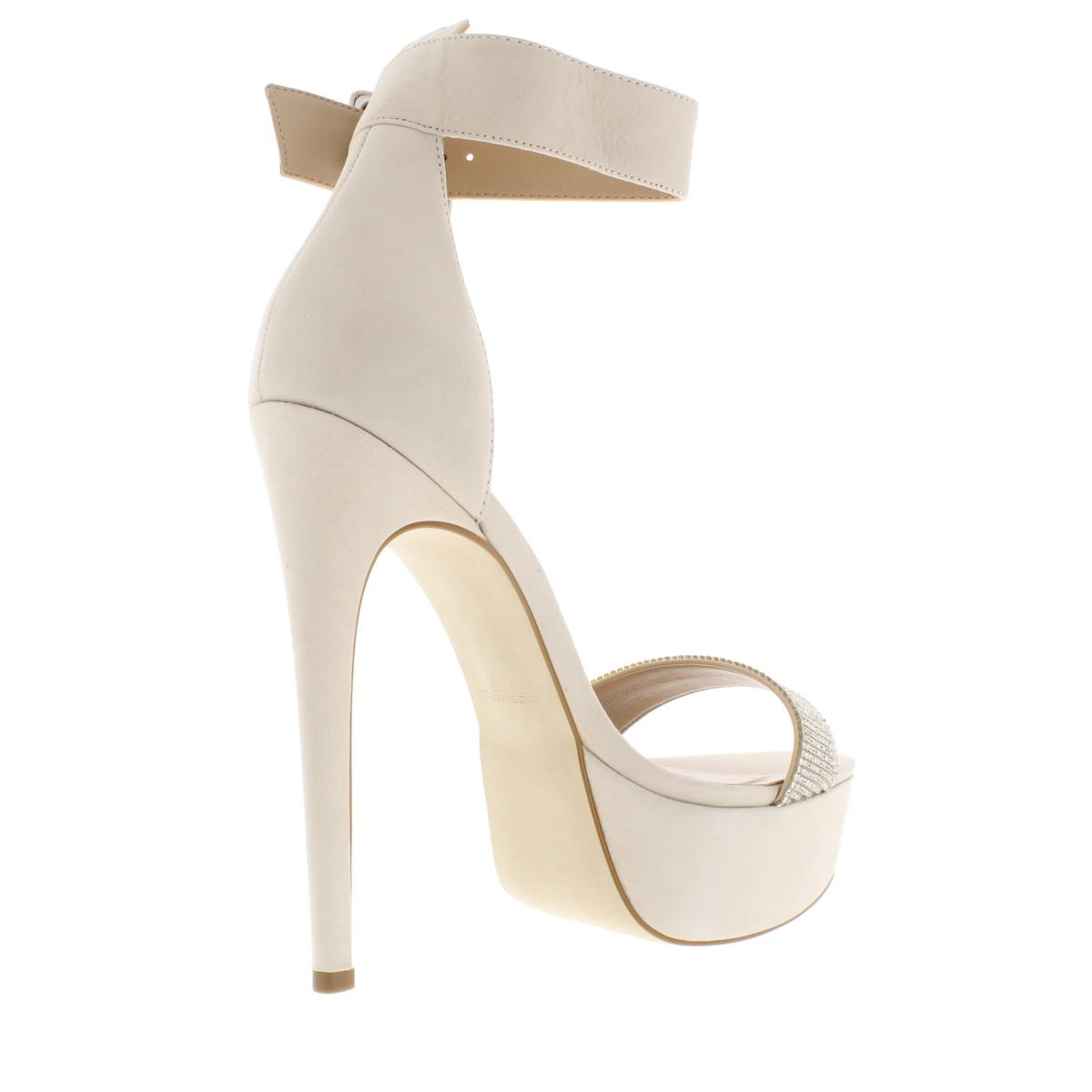 Steve-Madden-Womens-Sultry-Suede-Stiletto-Platform-Heels-Shoes-BHFO-7084 thumbnail 4