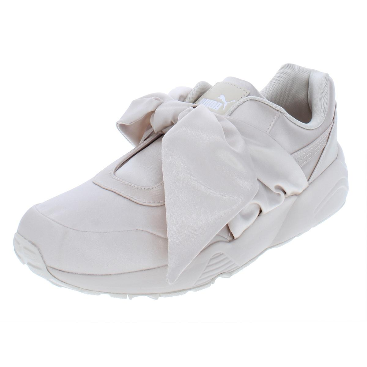 Fenty Puma by Rihanna Womens Bow Sneaker Satin Fashion Sneakers ... 8c1e0b469