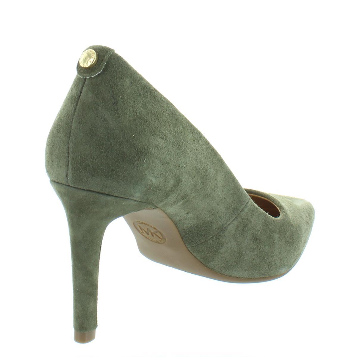 MICHAEL-Michael-Kors-Womens-Dorothy-Suede-Pumps-Dress-Heels-Shoes-BHFO-6408 thumbnail 8