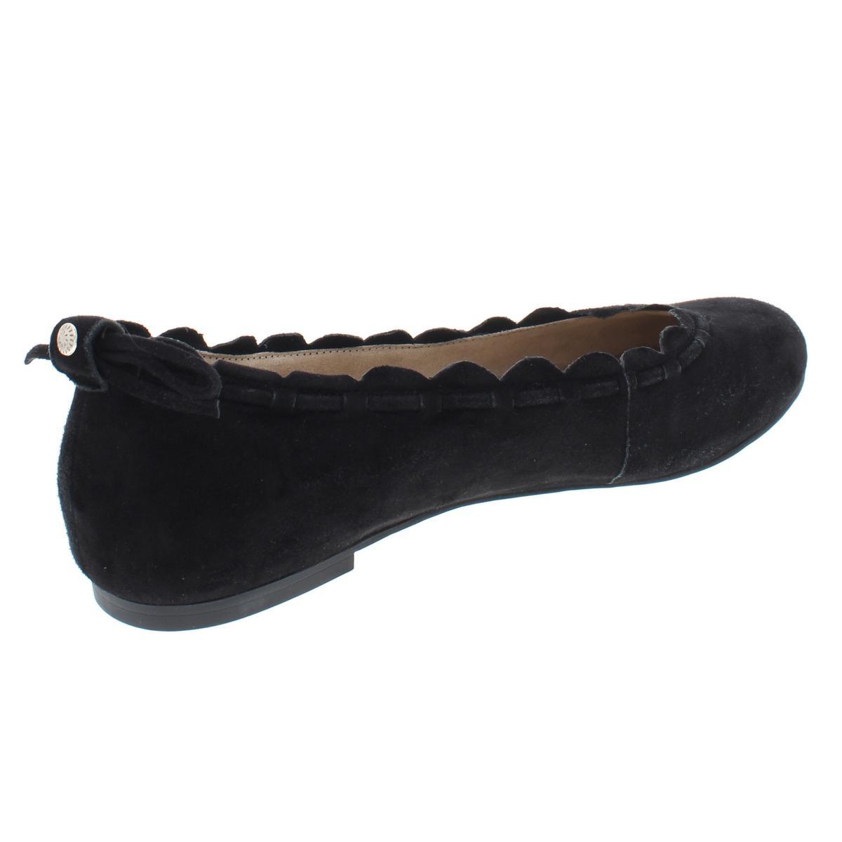Jack-Rogers-Womens-Lucie-Suede-Flats-Trim-Casual-Shoes-Shoes-BHFO-8002 thumbnail 4