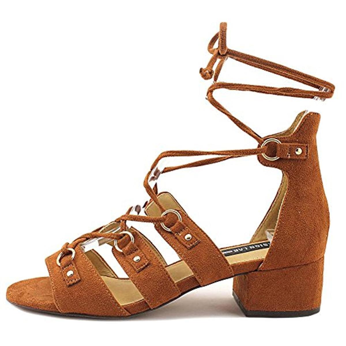 Design-Lab-Womens-Eldy-Block-Heel-Dress-Sandals-Shoes-BHFO-2676 thumbnail 7