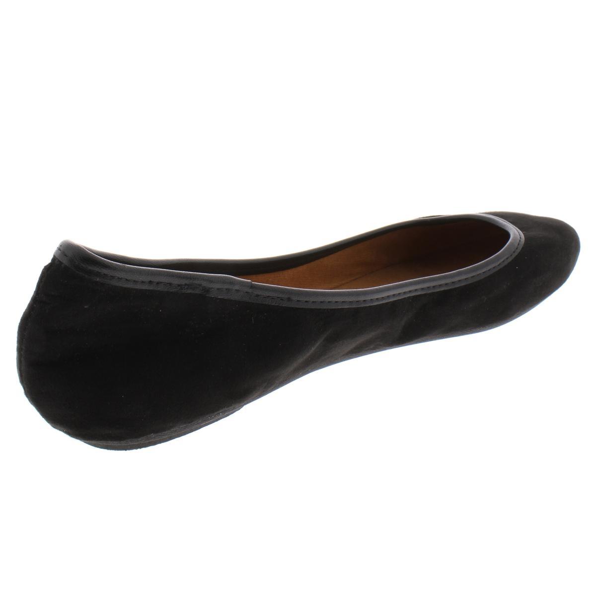 American-Rag-Womens-Cellia-Contrast-Trim-Slip-On-Ballet-Flats-Shoes-BHFO-6452 thumbnail 4