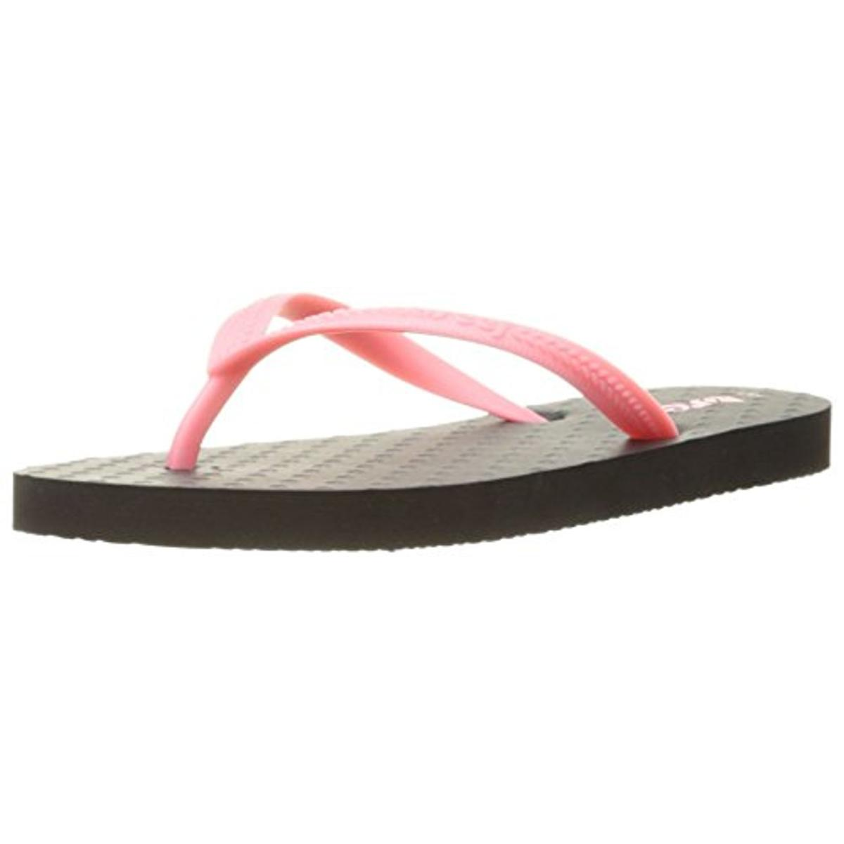 64625a392 Reef Black Toddler Thong Sandals Flip-Flops 7/8 BHFO 9256 ...