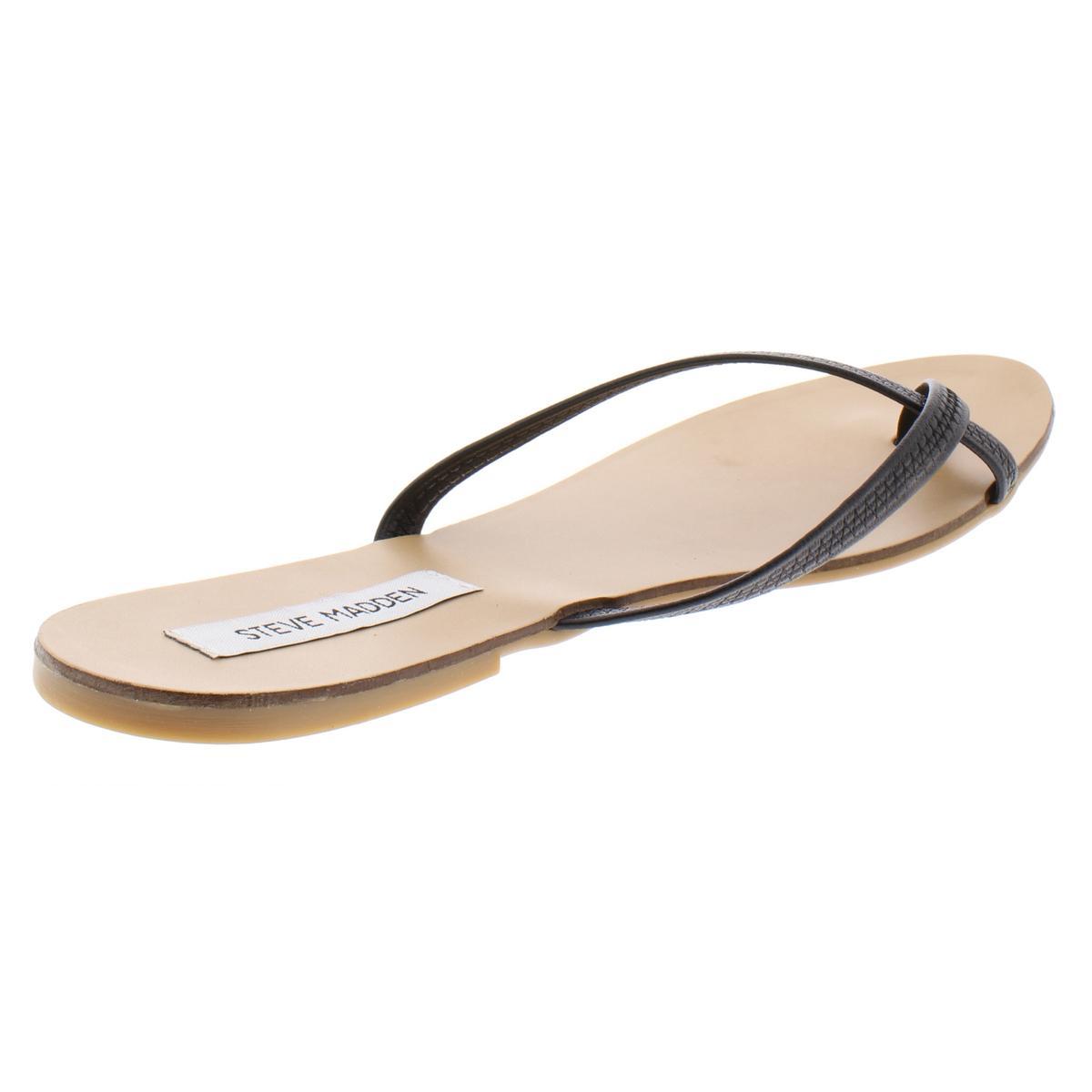 Steve-Madden-Womens-Coast-Toe-Loop-Stretch-Flats-Flip-Flops-Sandals-BHFO-0849 thumbnail 4