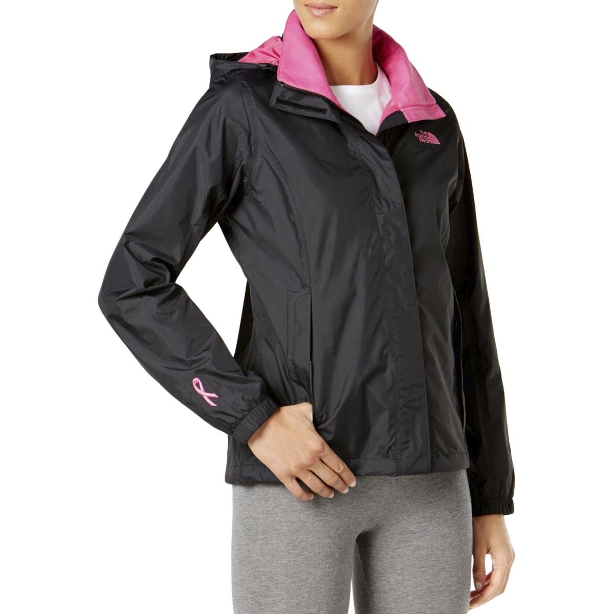 8399f83f3e Details about The North Face Womens Resolve Black Colorblock Parka Coat  Jacket M BHFO 1422