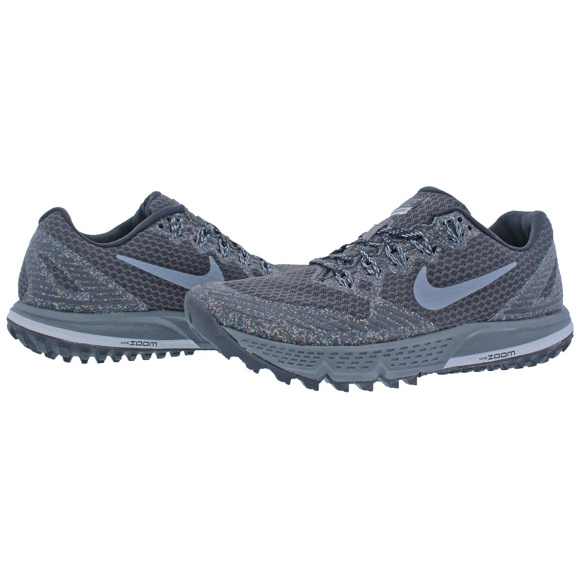 3c102557218 Details about Nike Mens Air Zoom Wildhorse 3 Black Trail Running Shoes 6  Medium (D) BHFO 2301