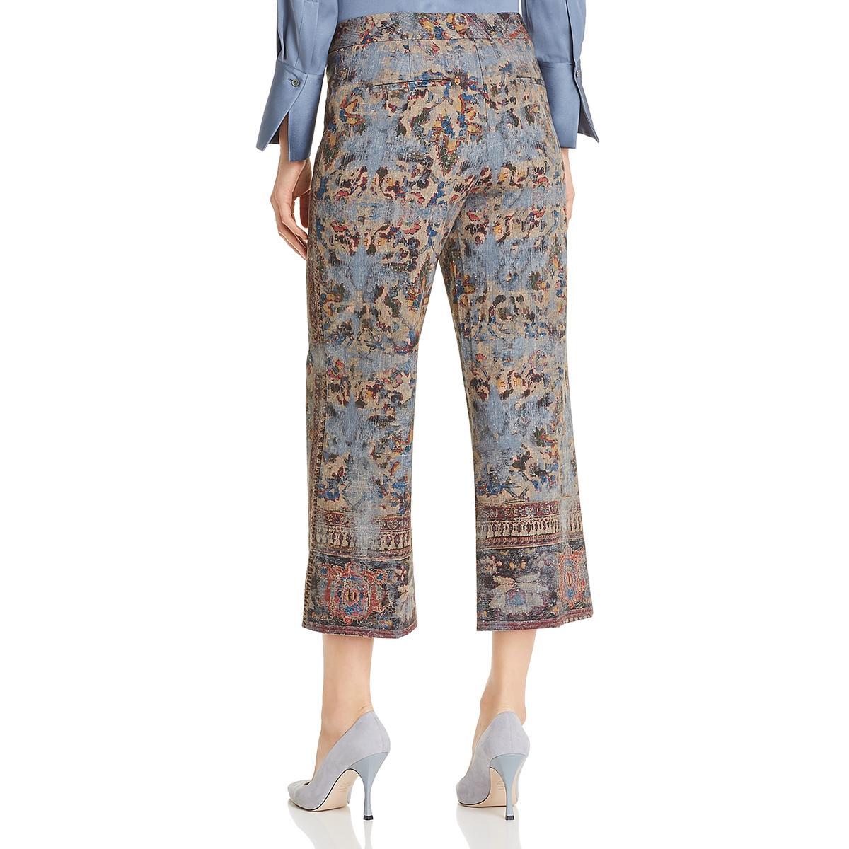 Kobi Halperin Womens Meg Wide Leg Side Slit Flare Pants BHFO 4406