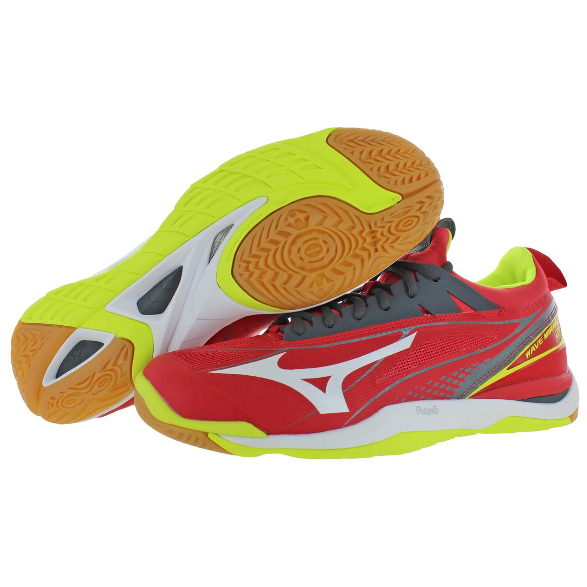 Mizuno-Mens-Wave-Mirage-2-Non-Marking-Handball-Lace-Up-Sneakers-Shoes-BHFO-9072 thumbnail 9
