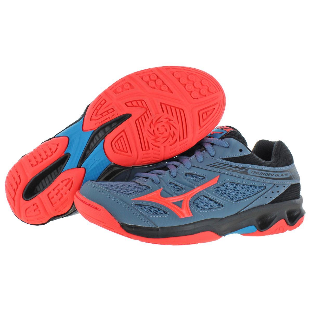Mizuno-Womens-Thunder-Blade-Low-Top-Non-Marking-Sneakers-Shoes-BHFO-9051 thumbnail 7