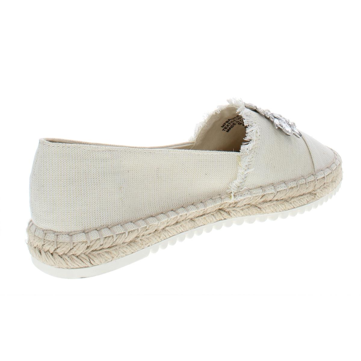 Marc-Fisher-Womens-Barnum-2-Metallic-Embellished-Espadrilles-Shoes-BHFO-6409 thumbnail 4