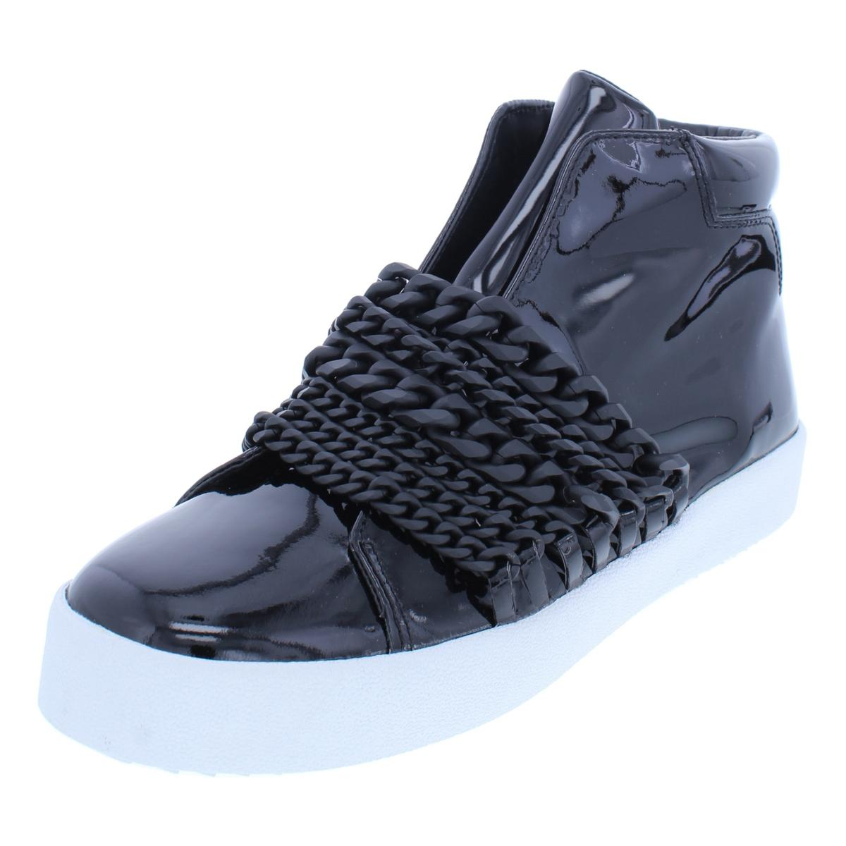 6982777111059 Details about Kendall + Kylie Womens Duke Patent High Top Fashion Sneakers  Shoes BHFO 7854